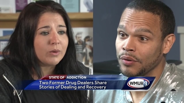 Former drug dealers tell their own stories of addiction