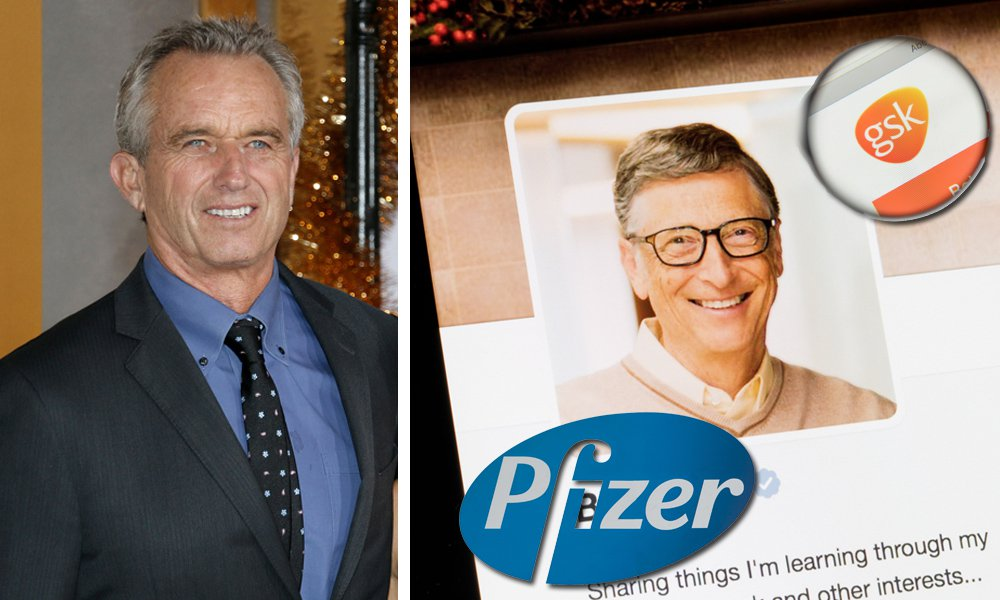 Robert F. Kennedy Jr. exposes Bill Gates & his relationship with Big Pharma